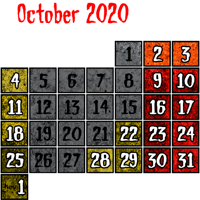 2020 Dates & Hours of Operation